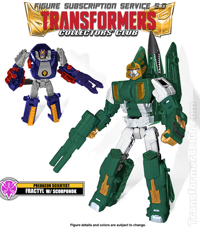 TFCC Subscription Figure 5.0 - Fractyl with Scorponon