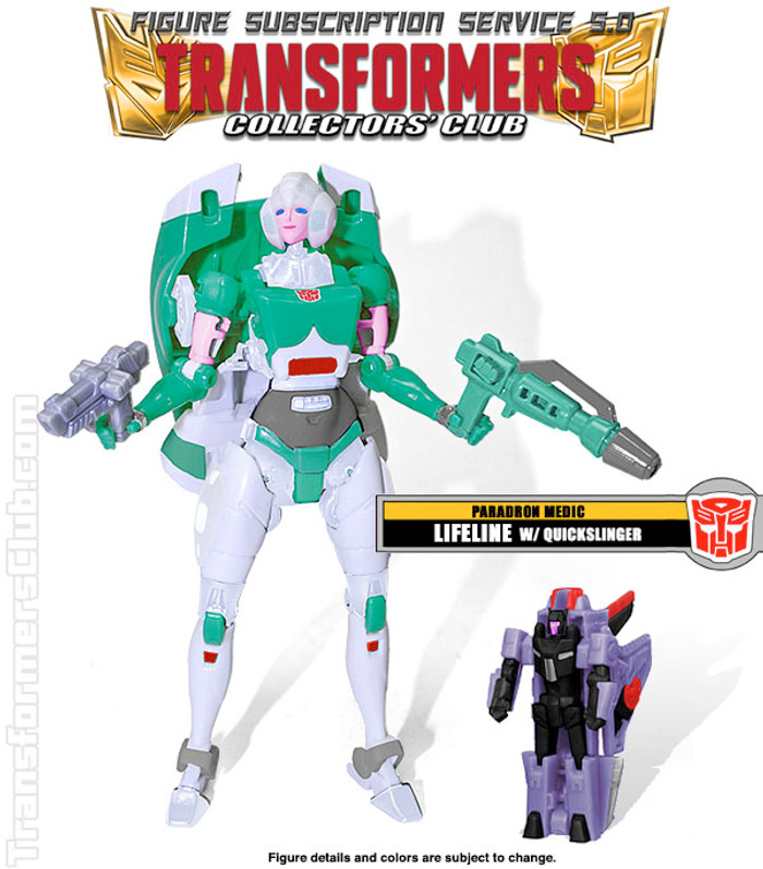 TFCC Subscription Figure 5.0 - Lifeline with Quickslinger