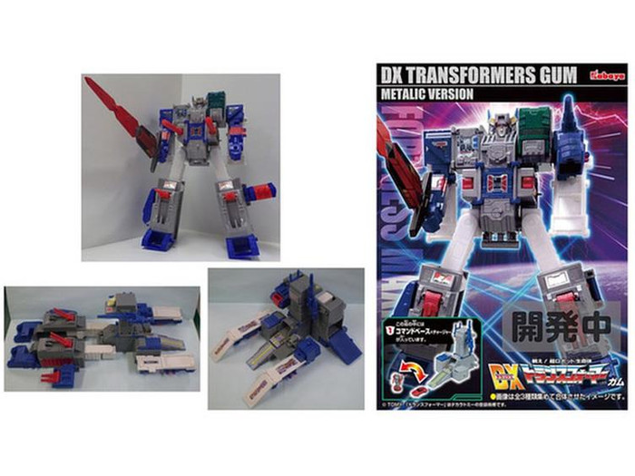 Kabaya - Transformers DX Fortress Maximus Series - Box of 6 Metallic Version