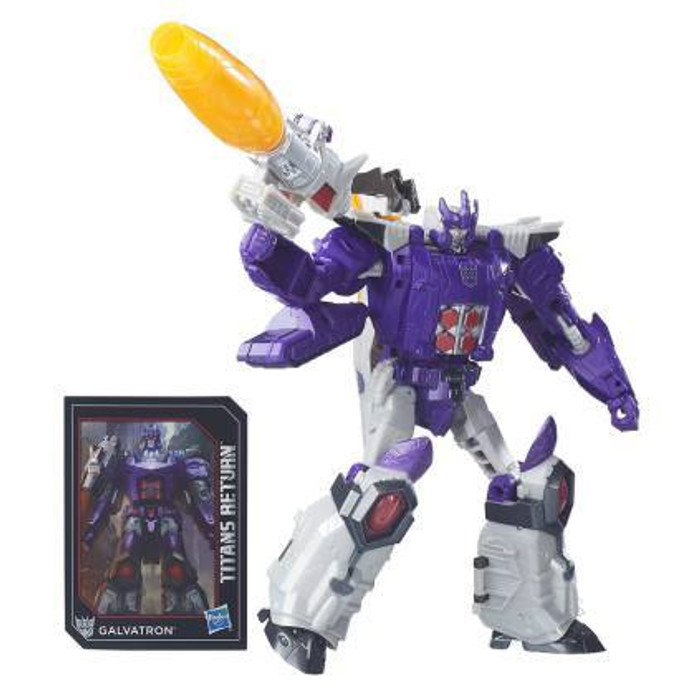 Transformers Generations Titans Return - Voyager Class Galvatron with Nucleon