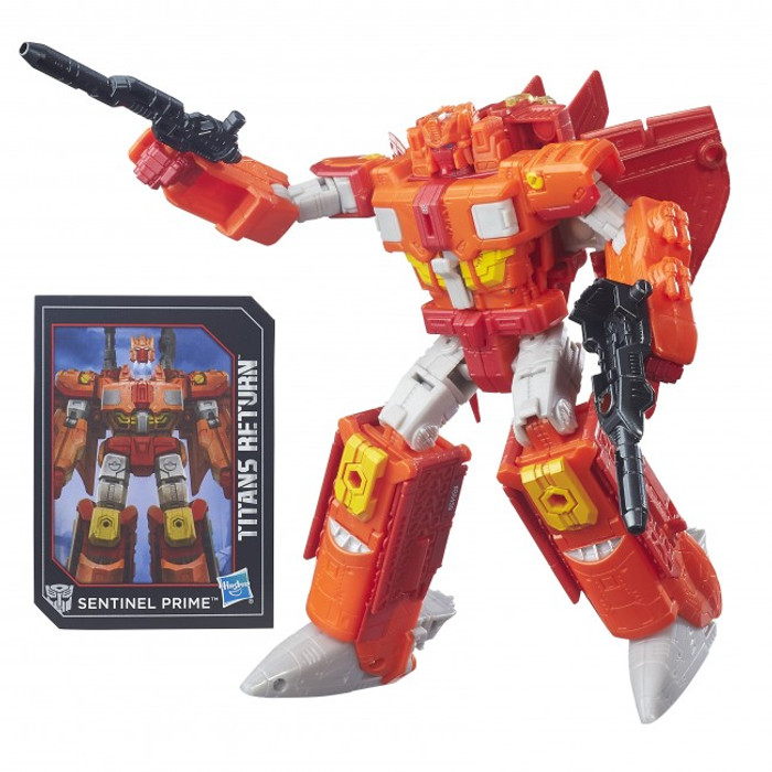 Transformers Generations Titans Return - Voyager Class Sentinel Prime