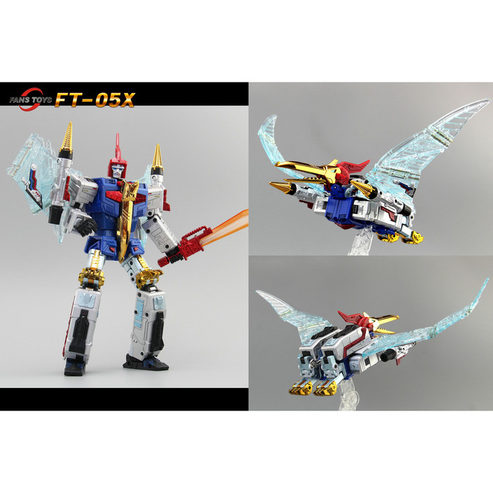 Fans Toys FT-05X - Blue Soar Limited Color Version