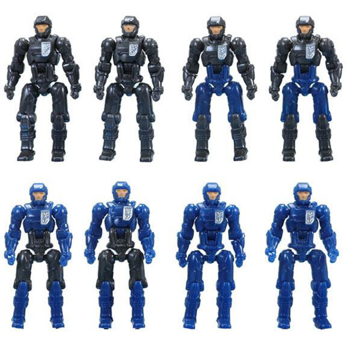 Diaclone Reboot - Dia-Nauts Set of 8