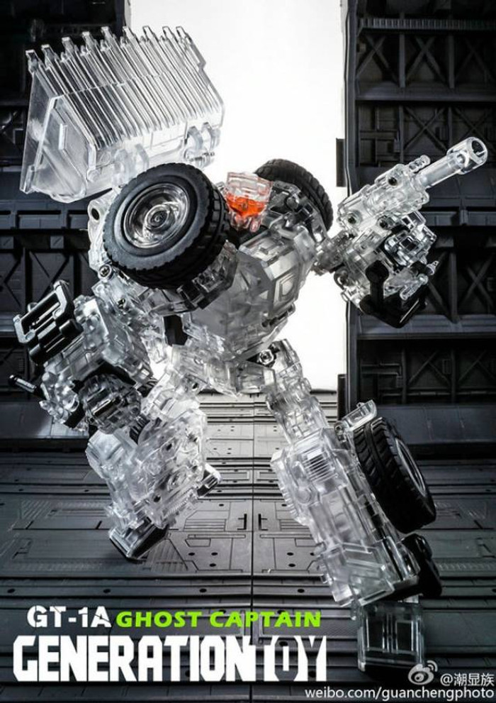 Generation Toy - Gravity Builder - GT-01A Ghost Captain