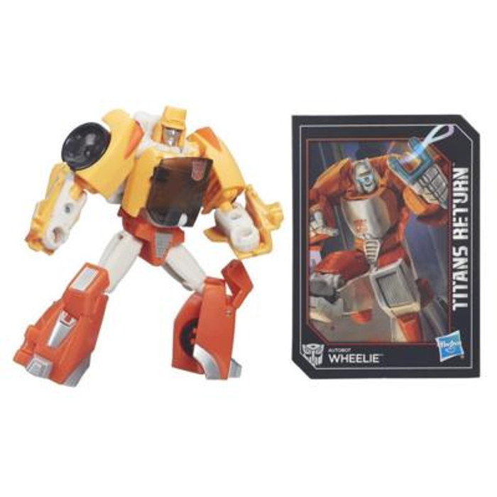 Transformers Generations Titans Return - Legends Class Wheelie