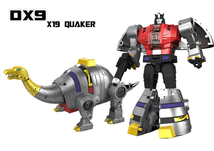 DX9 - War in Pocket - X19 Quaker