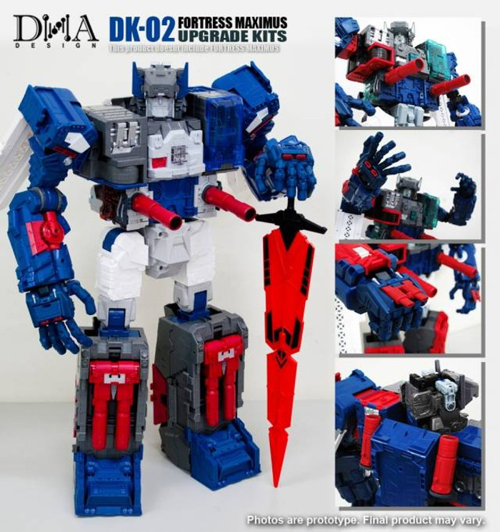 DNA Design - DK-02 Fortress Maximus Upgrade Kit