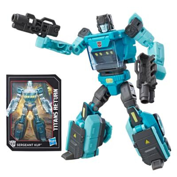 Transformers Generations Titans Return - Deluxe Wave 4 - Sergeant Kup