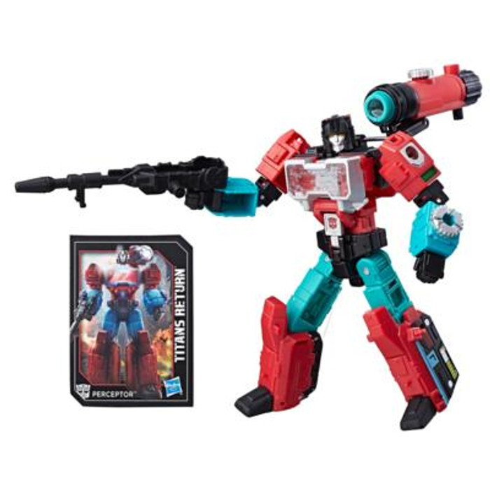 Transformers Generations Titans Return - Deluxe Wave 4 - Perceptor