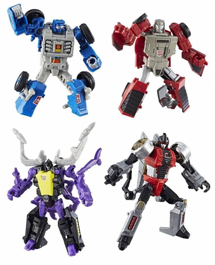 Transformers Generations Power of The Primes - Legends Wave 1 - Set of 4
