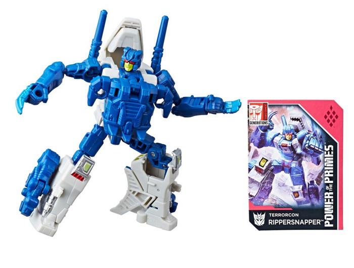 Transformers Generations Power of The Primes - Deluxe Rippersnapper