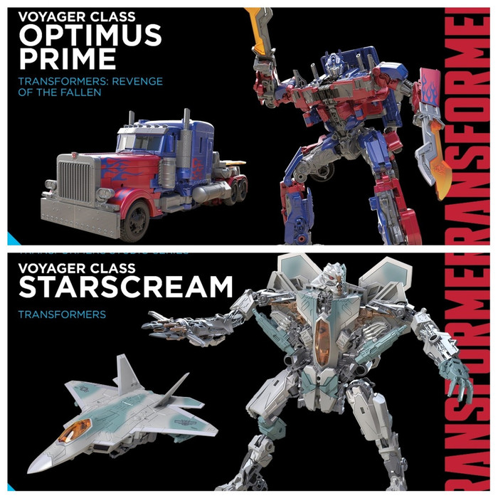 Transformers Generations Studio Series - Voyager Wave 1 - Set of 2
