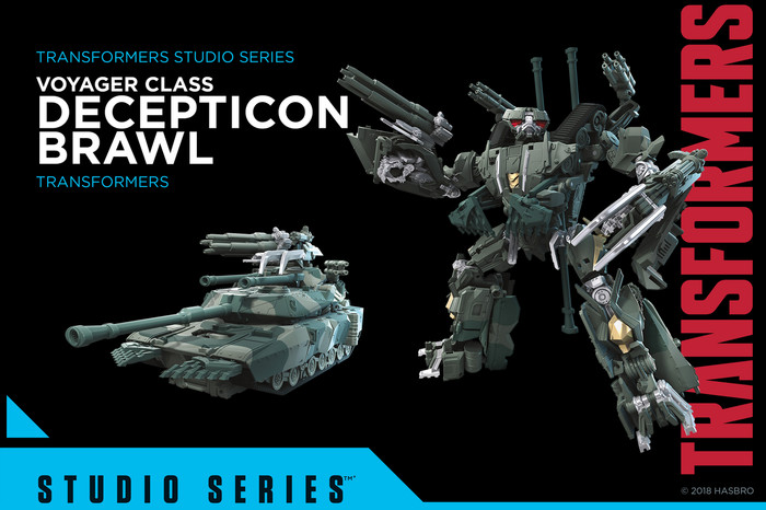 Transformers Generations Studio Series - Voyager Brawl