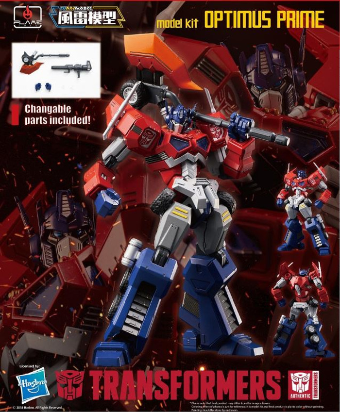 Flame Toys - Furai Model 01: Optimus Prime (Attack Mode) Model Kit