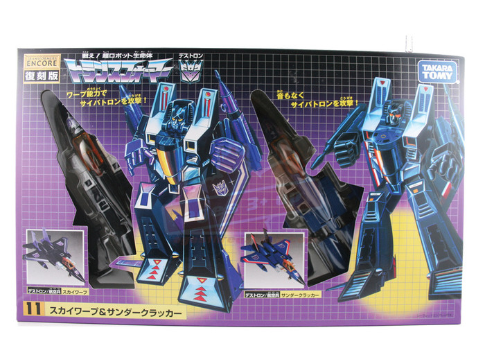 Encore 11 - Thundercracker & Skywarp