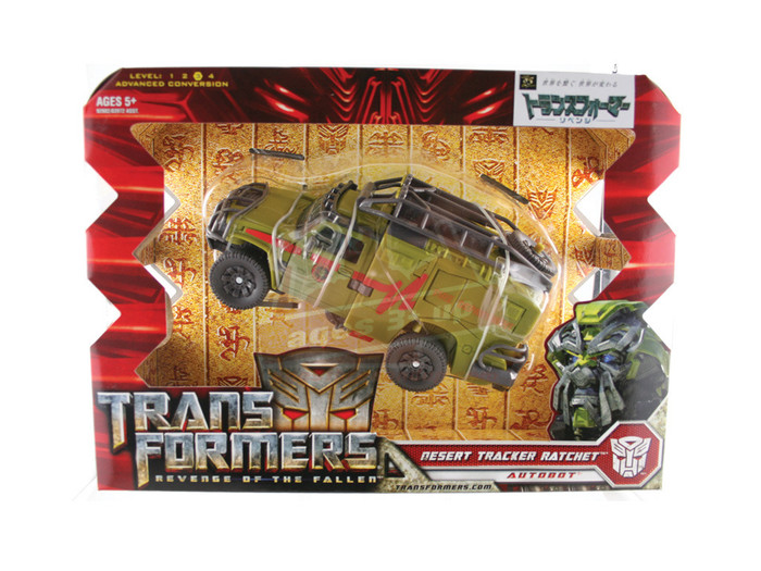 RA-08 Desert Tracker Rachet (Autobot) TakaraTomy Japan Version