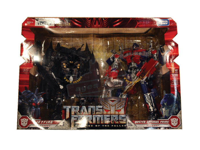 Transformers Movie 2 Buster Prime & Jetfire 2pk Box Set