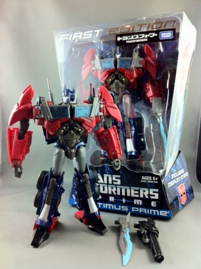 First Edition Optimus Prime (Japan Color Exclusive)