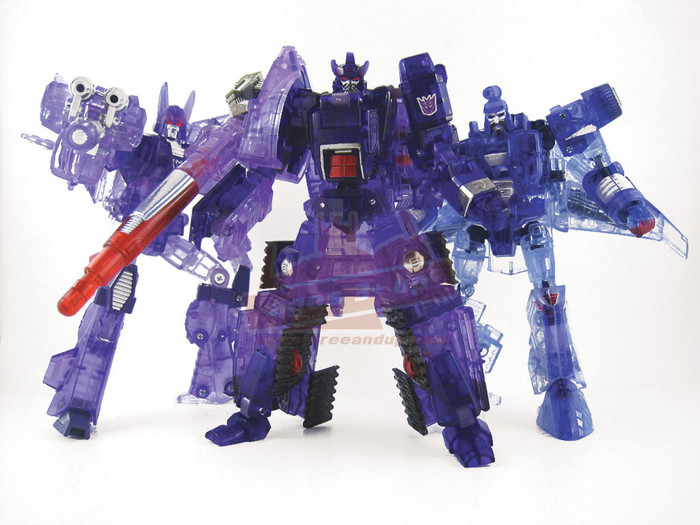 Transformers United Decepticon Three-Pack E-Hobby Exclusive