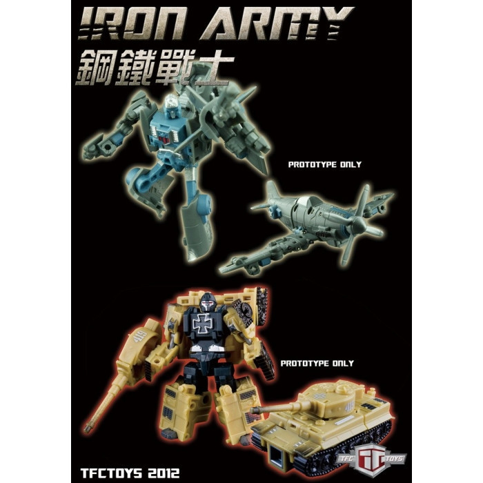 "TFC - Iron Army ""SET A"""