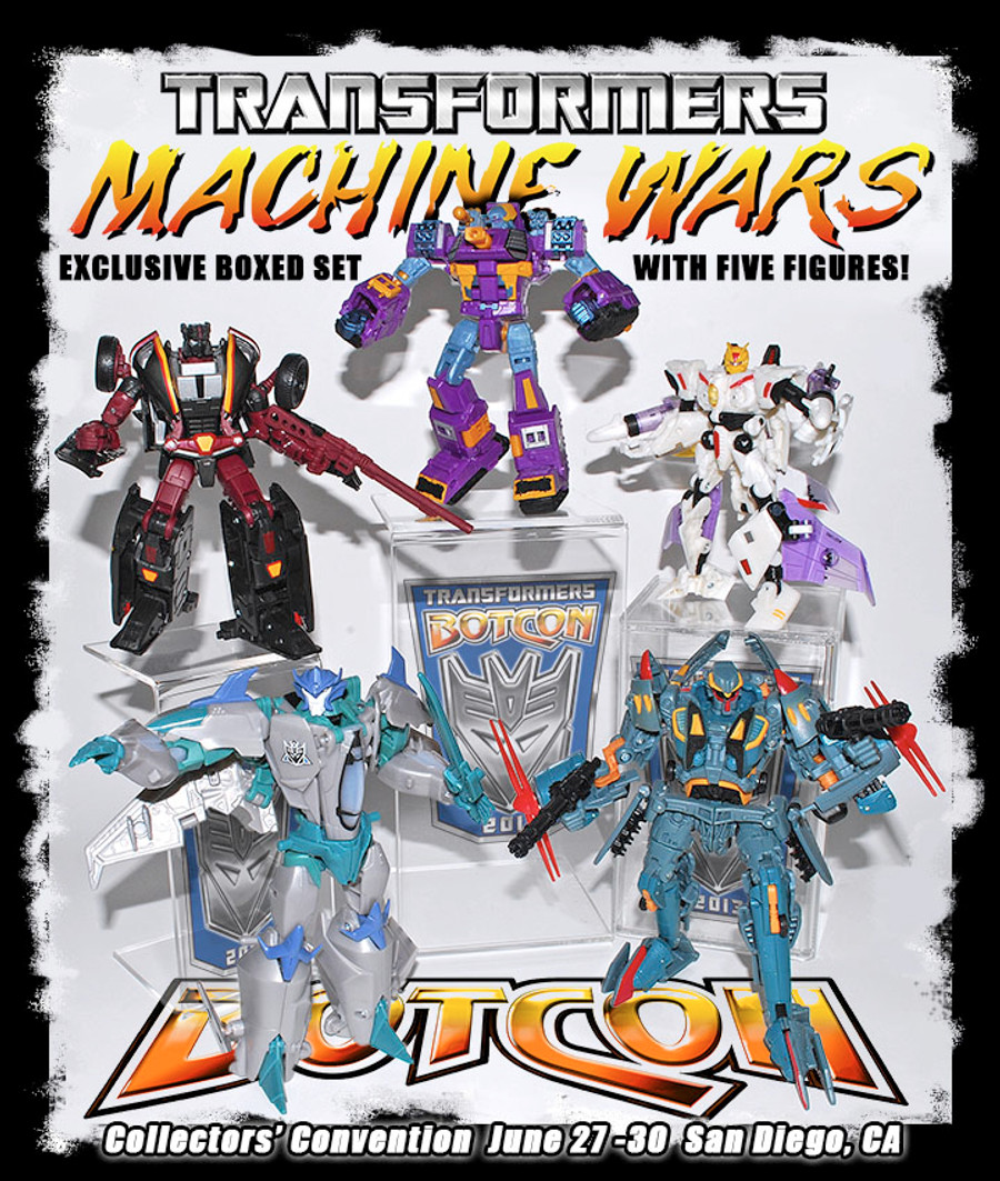 Botcon 2013 - Convention Exclusive - Machine Wars: Termination Boxed Set