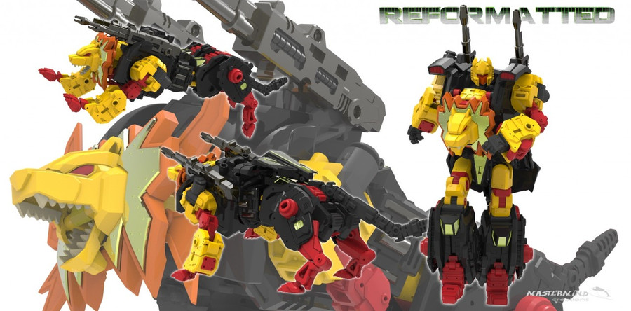 Reformatted 04 - R-04 Leo Dux the Squadron Commander (Feral Rex)