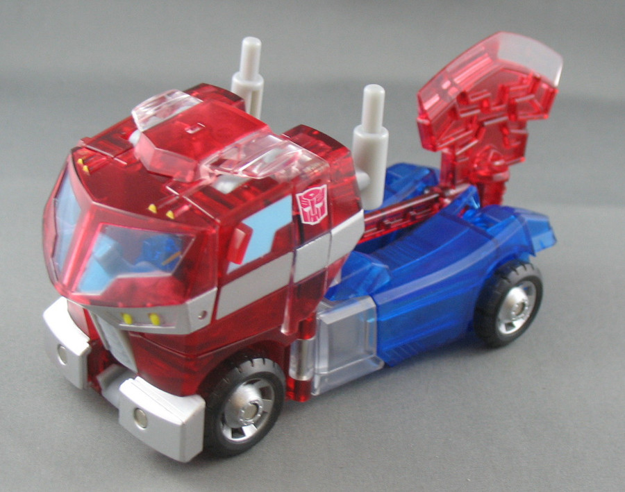 Animated - Sons of Cyberton - Crystal Optimus Prime (Loose)