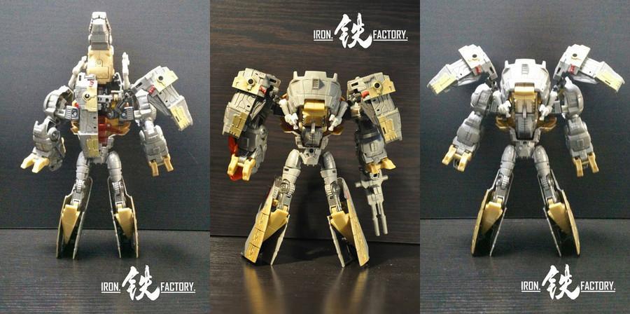 Iron Factory - Creataceous Advancement Set