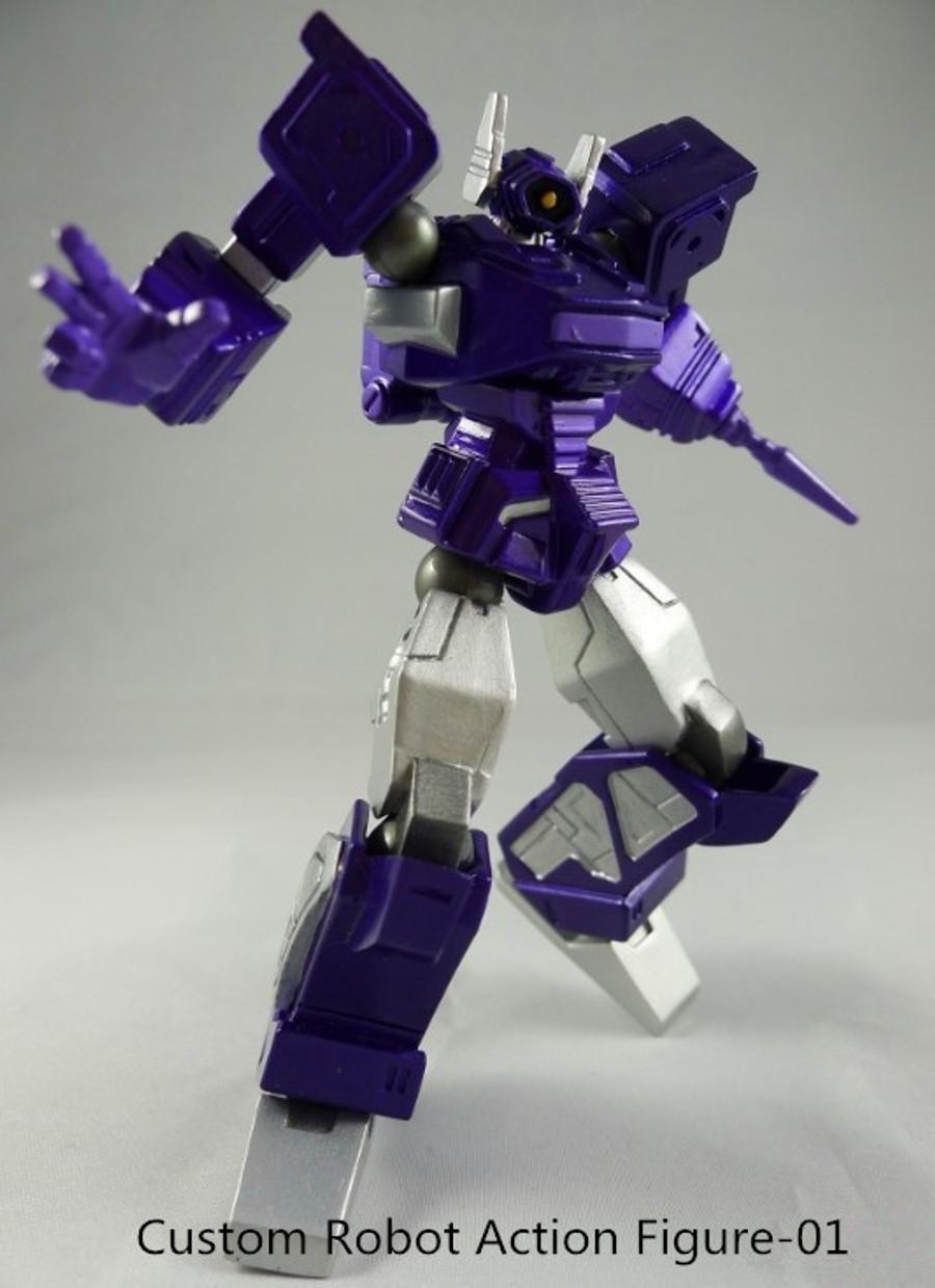Custom Robots - Revoltech Shockwave