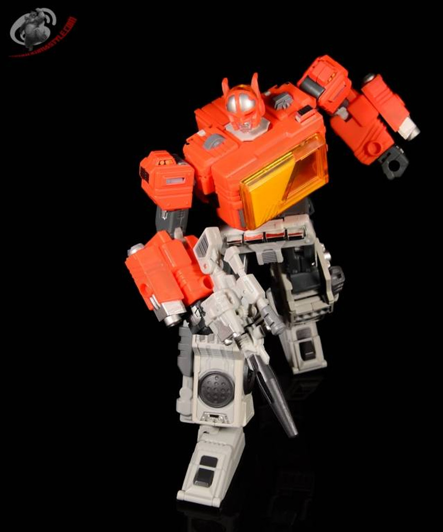 Mega Steel - MS-03 - Buster (aka Radio)