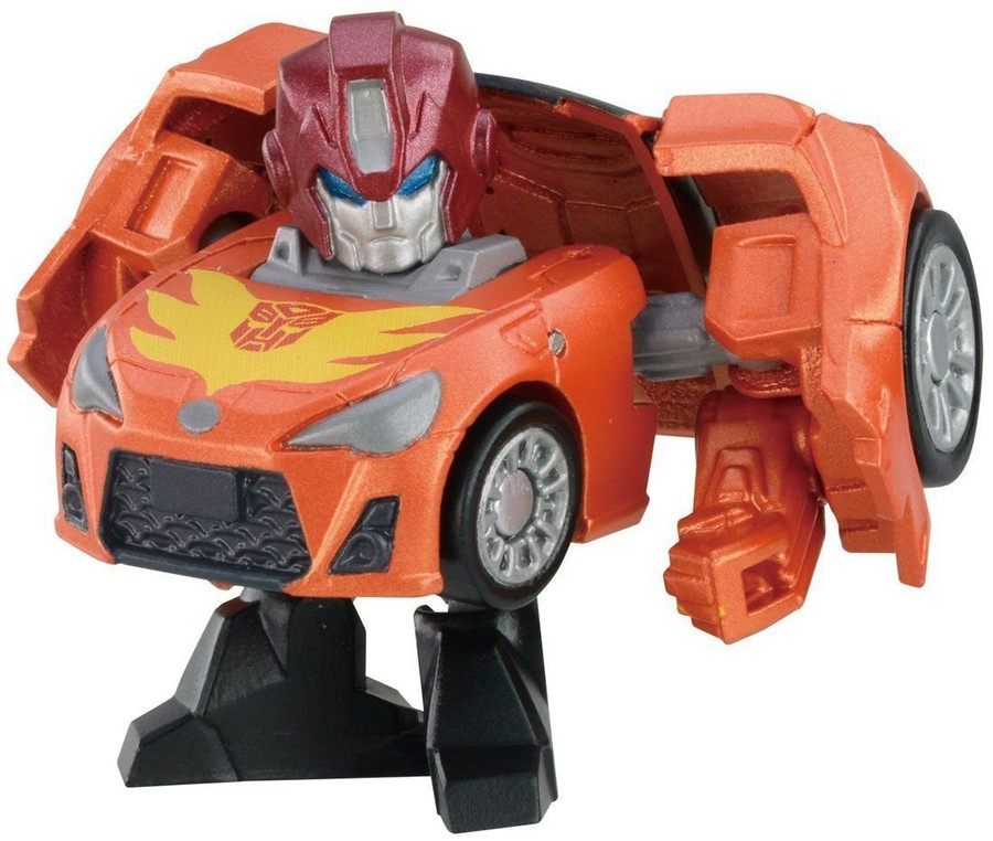 Q Transformers Series 1 - QT07 G1 Hot Rod