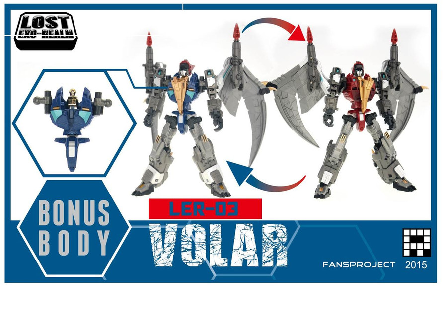 FansProject - Lost Exo Realm LER-03 - Volar and Velos