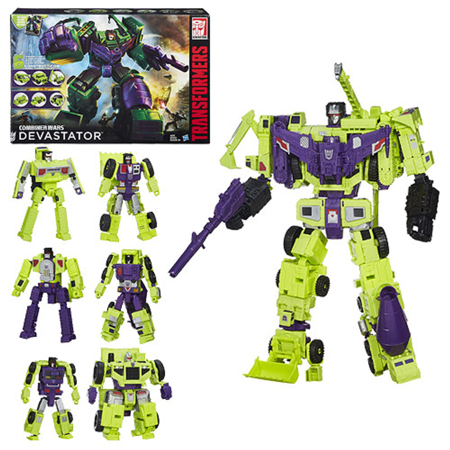 Transformers Generations Combiner Wars Devastator Set