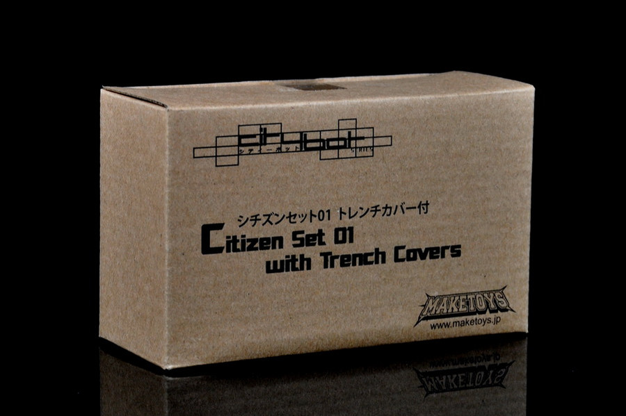 MakeToys Citizen Set 01 with Trench Covers