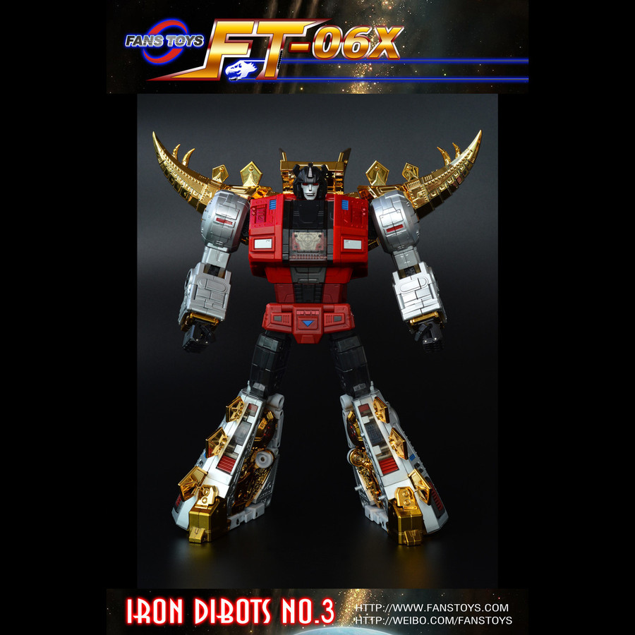 Fans Toys - FT-06X Sever Limited Edition of 1000 - Iron Dibots no. 3