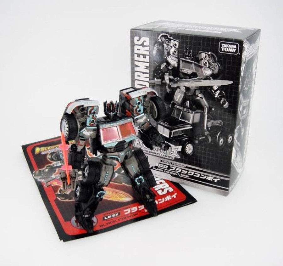 Tokyo Toy Show 2015 Exclusive EX-LG Black G2 Optimus Prime