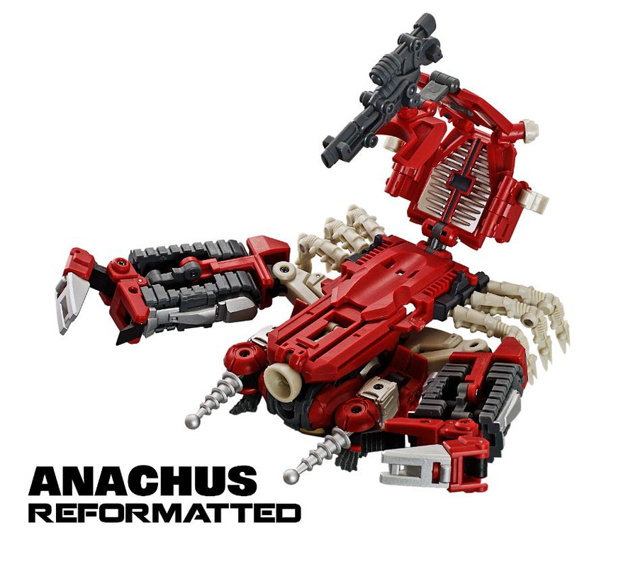 Mastermind Creations Reformatted R-16 Anarchus - Re-issue