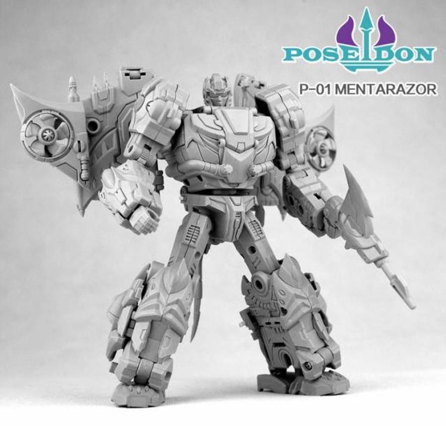 TFC Combiner Poseidon P01 - Mentarazor