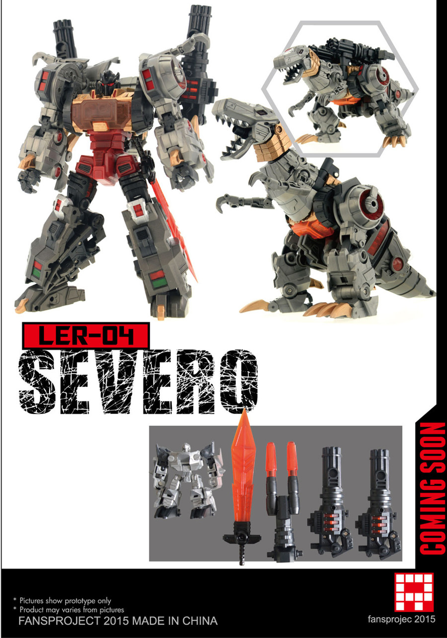 Fansproject - Lost Exo Realm LER-04 Severo