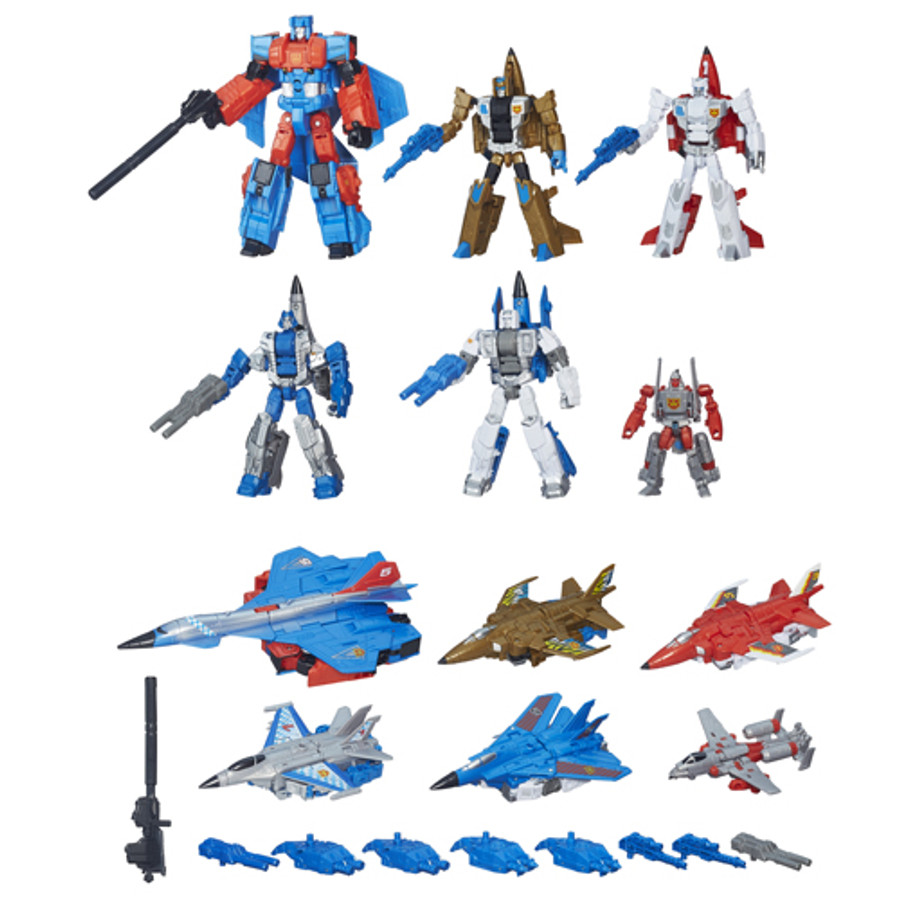 Transformers Combiner Wars Generation 2 Superion Aerialbots Boxed Set