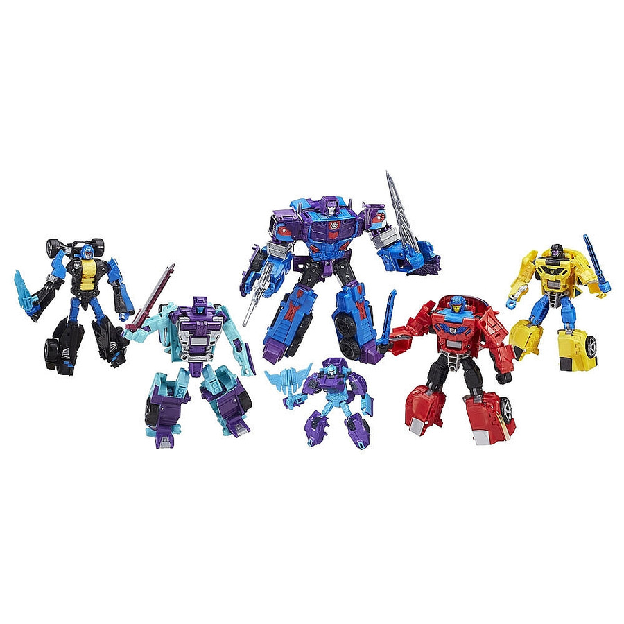 Transformers Combiner Wars Generation 2 Menasor Stunticons Boxed Set