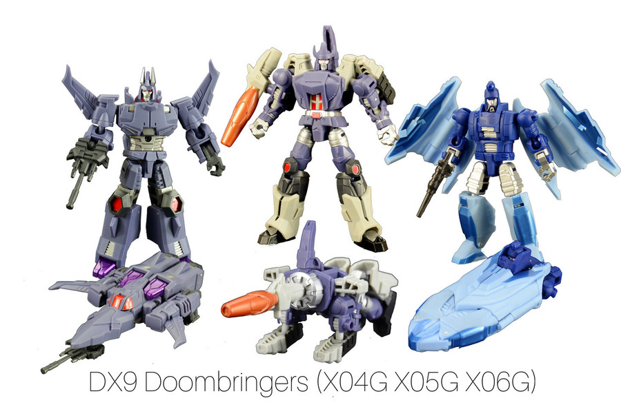 DX9 - Doombringers X04G X05G X06G (Set of 3)