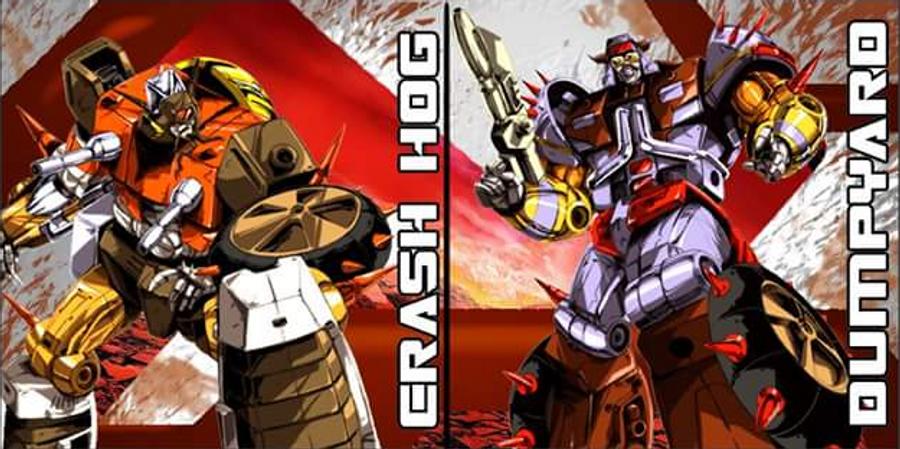 KFC - Eavi Metal Phase 6: Crash hog & Dumpyard Set