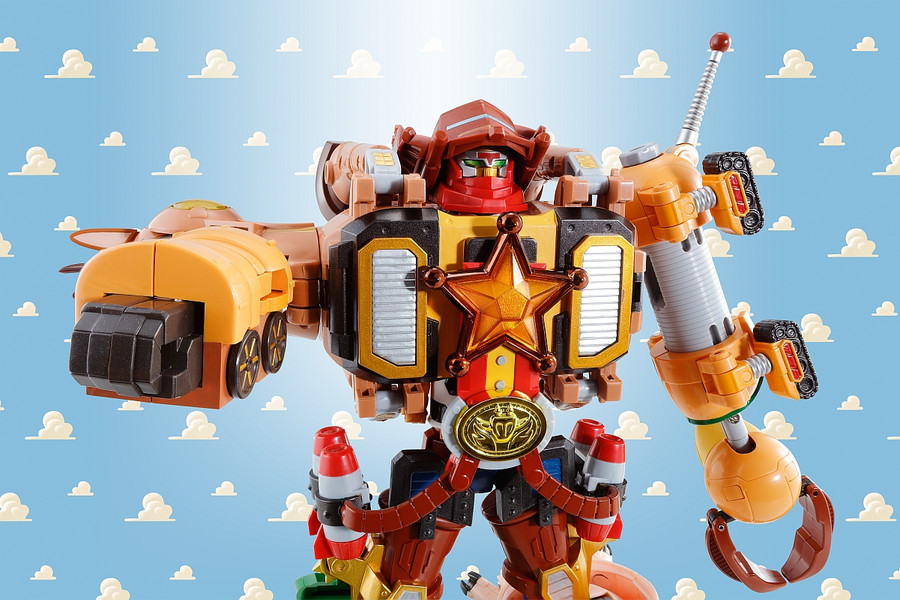 Bandai - Toy Story Combination Woody Robo Sheriff Star