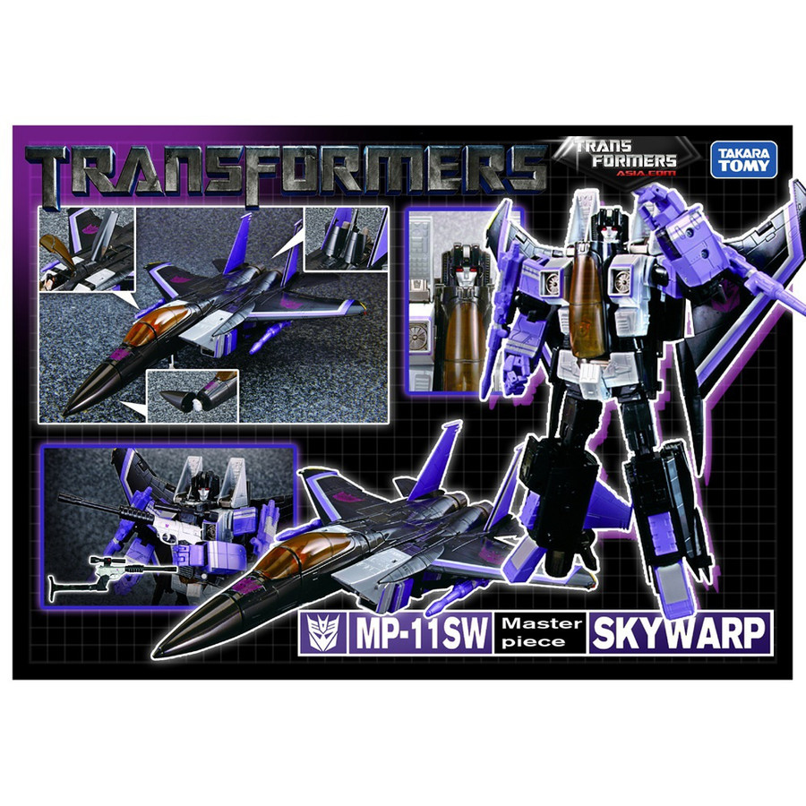 Masterpiece MP-11SW Skywarp Asia Exclusive - Re-issue