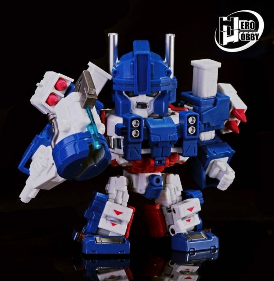 Hero-Hobby - QA-01 - Tiny Magnus (City Captain)