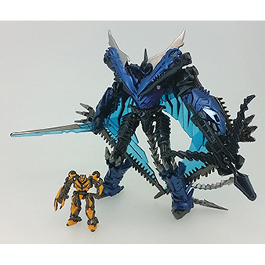 Transformers Movie 10TH Anniversary - MB-10 Dinoride Strafe & Bumblebee