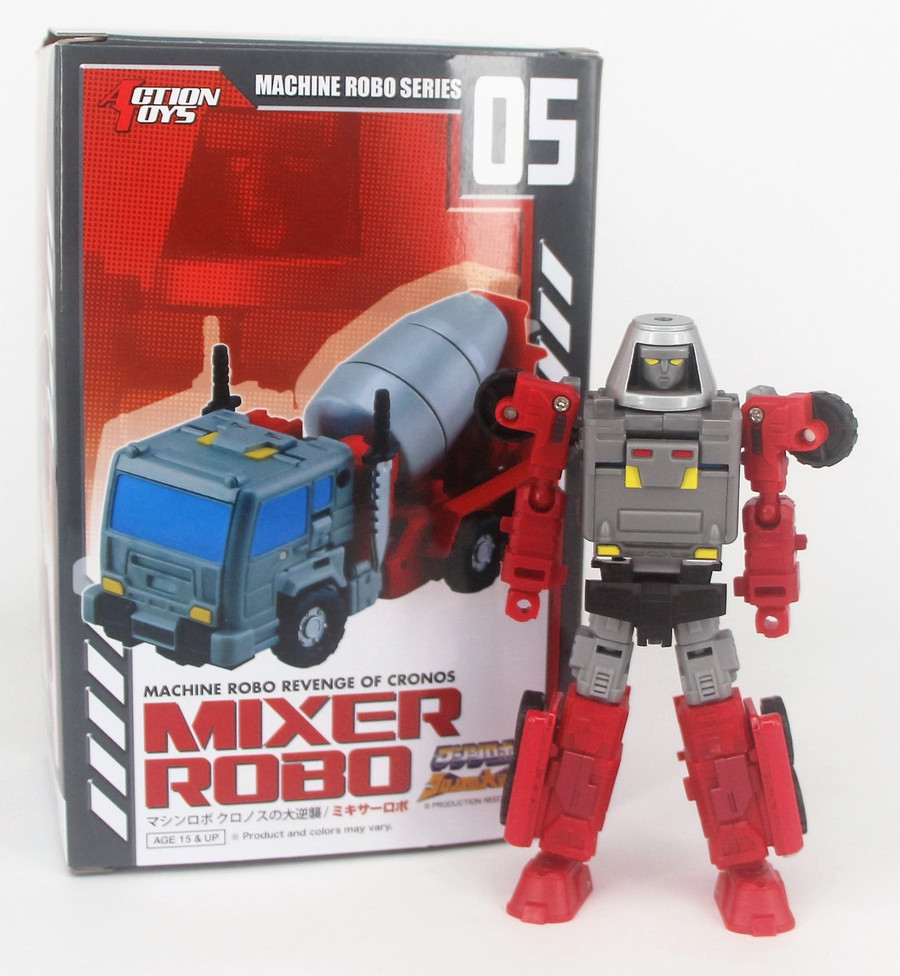 Machine Robo - MR-05 - Mixer Robo (Gobots Reboot)