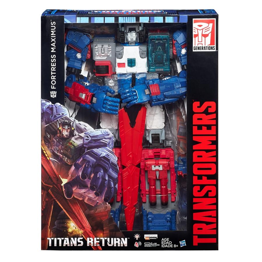 Transformers Generations Titans Return - Fortress Maximus SDCC 2016