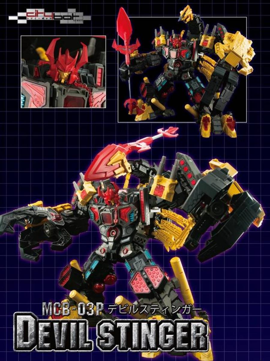 Maketoys - CityBot Series - MCB03P - Devil Stinger